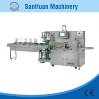 China Programmable Medical Plaster Pharmaceutical Packaging Equipment 30-120 Bags/min on sale