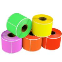 Thermal Paper Self Adhesive Sticky Labels Test And Tag Heat Resistant Anti Fake Manufactures
