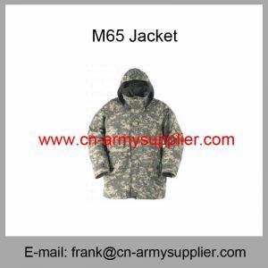 China Wholesale Cheap China Army Digital Camouflage Military Field Parka Jacket on sale