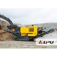 Large Energy-saving Tracked Mobile Crushing Plant Used in Stone Production Plant Manufactures