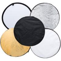"""60cm 5 in 1 Portable Photography Studio Multi Photo Disc Collapsible Light Reflector(24"""") Manufactures"""