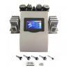 Portable 6 In 1 Cavi - lipo Ultrasound Cavitation Machine 40K Cavitation RF Multipolar Tripolar Vacuum Laser for sale