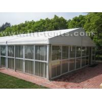 Luxury event tent with glass wall, wooden floor from Liri tent for export Manufactures