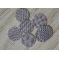 China 10mm Stainless Steel Filter Mesh Screen , Smoking Pipe Filter Screen Mesh on sale