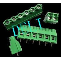 DL950-Xx-9.5 30A PCB Connector Barrier Terminal Block M3 Steel Zinc Plated Screw Manufactures