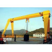 Yellow Color Monorail Wire Rope Hoist Crane Anti Corrosion With Trolley Manufactures