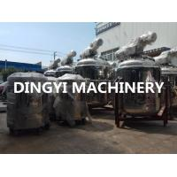 High Productivity Shampoo Making Machine Touch Screen Control Low Power Consume Manufactures