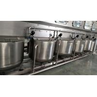 Multifunctional 3 / 5 Gallon Bottled Water Production Equipment For Different Bottles Manufactures