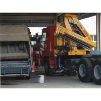 XCMG SQ5ZK3Q Truck Mounted Articulated Boom Crane 5t Manufactures
