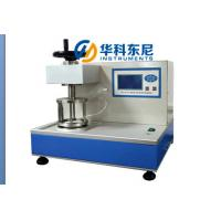 Digital Fabric Hydrostatic Pressure Tester -Touch Screen Control Textile Test Equipment Manufactures
