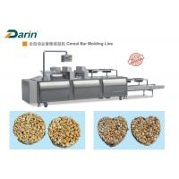 Muesli Bar / Ball Bar Forming Machine , Cereal Bar Equipment CE ISO9001 Manufactures