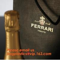 luxury paper carrier bag wholesale paper bags with handle, decorative luxury recyclable fashion paper bags with your own Manufactures