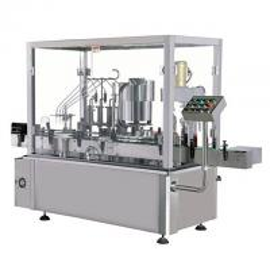 China Glass And Plastic Milk Bottle Liquid Filling Machine , Air Jet Bottle Washing Machine on sale