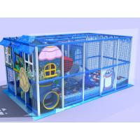 Sea Creature Theme Indoor Amusement Park Equipment / Indoor Climbing Structure For Toddlers Manufactures