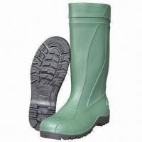 Safety Boots, Made of PVC Material with Steel Toe/Midsole Manufactures