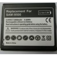 Replacement mobile phone battery for Samsung Galaxy S4 /I9500 3.7V 2600MAH Manufactures