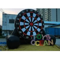 Buy cheap Hot Air Welding Inflatale Soccer Dart Air Sealed Game For Football Shooting from wholesalers