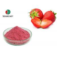 Pure Freeze Dried Powder Strawberry Sativus Fruit Extract Organic Strawberry Powder Manufactures