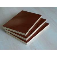 Environmental Protection Brown Film Faced Plywood With Both Sides Melamine Covered Manufactures