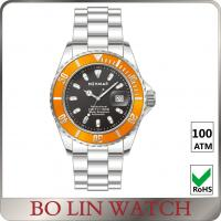 Automatic Movement Deep Sea Diving Watches , 100ATM Sapphire Glass Watch Manufactures