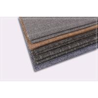 Tartan Plaid Coating Wool Fabric , Double Faced Cashmere Fabric ISO 9001 Certificate Manufactures