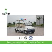 Long Range Electric Patrol Vehicle , Police Electric Car With CE Certificate Manufactures