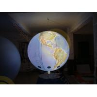 Quality 0.18mm PVC Inflatable Helium Balloons Attractive globe For Science Exhibition for sale