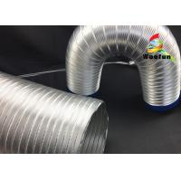Quality High Performance Semi Rigid Aluminum Air Duct With Clamps for Dryer Systems for sale