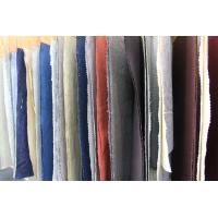 Colored Dyed Linen and Organic Cotton Washed Fabric for Polo T Shirt Clothing Manufactures
