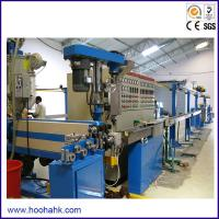 Quality ISO 90 Mm  Power Cable Extruder Machine With Capacity 250kg/hr  380V 50Hz for sale