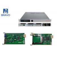 Audio Video Encoder Serials Head End Processor , SD / HD  Real Time Cable TV Modulator Manufactures