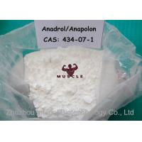 Medical Oral Bodybuilding Steroids , Safest Anadrol Anabolic Steroid CAS 434-07-1 Manufactures