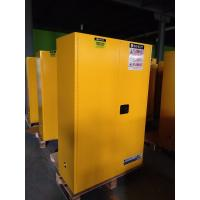 Yellow Flammable Safety Cainets , Industry Flame Proof Storage Cabinets 45 gallon170Litre Manufactures