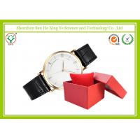 Crocodile Leather Wrist Watch 20 MM With Golden Steel Watchcase Manufactures