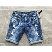 Quality 5 Pockets Boys Stretch Denim Shorts With  98% Cotton 2% Elastane TW81110 for sale