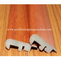 China Decorative Melamine Wood MDF Skirting Board wrapping machine on sale