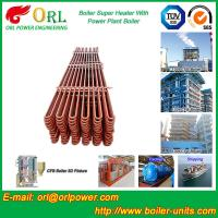 80MW Petroleum Industry CFB Boiler Superheater OEM TUV Superheater In Boiler Manufactures