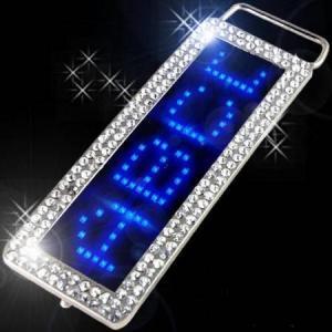 China LED flashing belt buckle on sale
