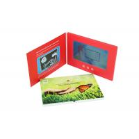 A5 7 Inch Advertising LCD Promotional Video Card Book With Customized Printing Manufactures