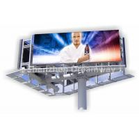 Big PH10 Outdoor LED Billboard Three Sided with 160 by 160 mm LED Module , 110V / 60HZ Manufactures