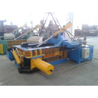 Metal Baler Tire Baling Machine 1300kN Force For Steel Plants Manufactures