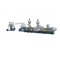 China High Filler High Capacity ABS PS Plastic Pellet Making Machine on sale