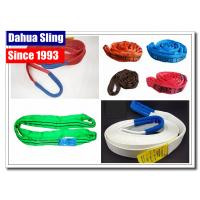 Commercial Polyester Winch Extension Strap 4WD Snatch Strap For Winch Recovery Manufactures