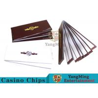 Smart Baccarat Gambling Systems Special Recording Paper Showing The Result Manufactures