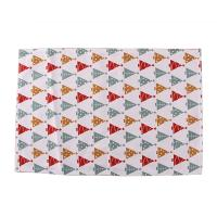 Buy cheap Decorative Square Dining Table Mats Cotton Fabric 40 * 35cm For Home / from wholesalers