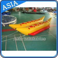Water Games Inflatable Boats Double Tubes Flying Fish Inflatable Banana Boat Manufactures