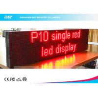 Lightweight Moving Message Led Sign Programmable Led Display With 10mm Pixel Pitch