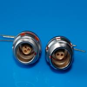 Lemo EEG PCB socket 3pin waterproof circular connector assembled inside receptacle Manufactures