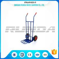 Steel Body Heavy Duty Dollies Hand Trucks Welded Construction 200KG Load Capacity Manufactures