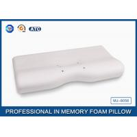 Polyurethane Molded Magnetic Memory Foam Pillow With Aloe Vera Sign Cover Manufactures